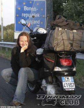 Из Лондона в Хельсинки на скутере
