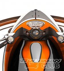 Мотоцикл-концепт Dacoit от Nitin Design