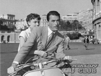Римские каникулы: скутеры рулят