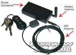 GPS-блок слежения за мотоциклом