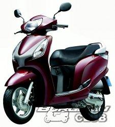 Honda сделала новый скутер для Индии