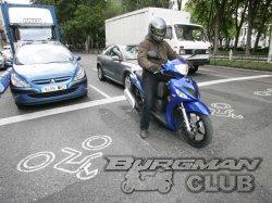 На перекрестках в Испании появились стоп-линии только для мотоциклистов