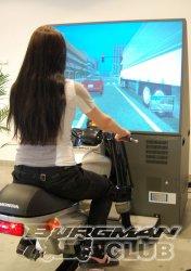 Научиться водить мотоцикл можно на симуляторе Honda
