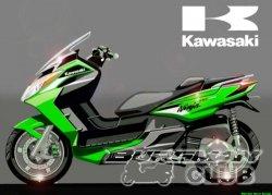 Скутер от Kawasaki