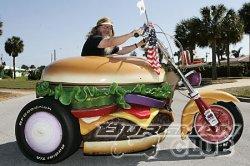 Мотоциклы и гамбургеры