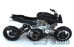 Трехколесный мотоцикл – новая версия