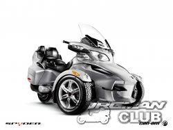Трицикл BRP Spyder в туринговой версии