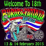 Burapa Pattaya Bike Week (Мото-фестиваль Бурапа) 2015 в Паттайе
