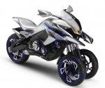 Intermot: Концепт трехколесника 01GEN от Yamaha
